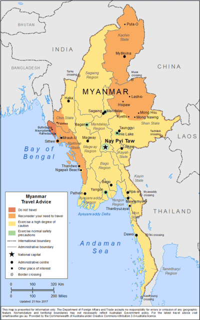 Burma Travel Health Insurance - Country Review
