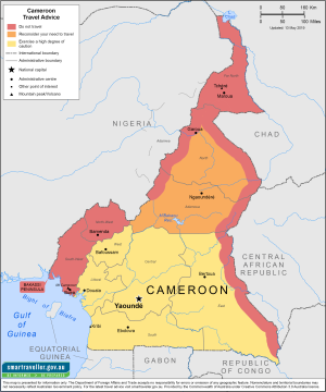 Cameroon Traveler Information - Travel Advice
