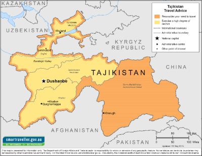 Tajikistan Travel Health Insurance - Country Review