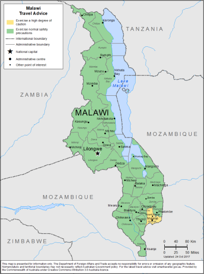 Malawi Travel Health Insurance - Country Review
