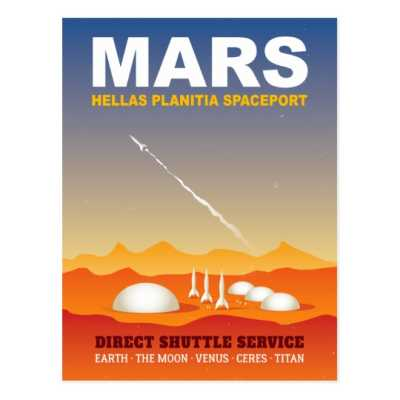 Space Travel Insurance - Moon & Mars