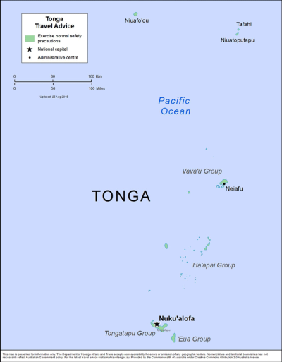 Tonga Travel Health Insurance - Country Review
