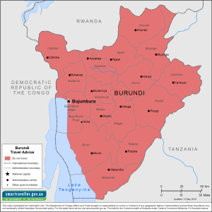 Burundi Traveler Information - Travel Advice