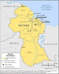 Guyana Travel Health Insurance - Country Review