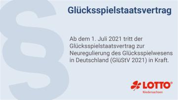 Die Ankündigung zur Neuregulierung des Glücksspielwesens zum 1. Juli 2021