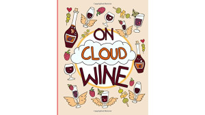 wine-themed coloring book