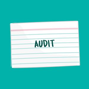 audit fsl flashcard