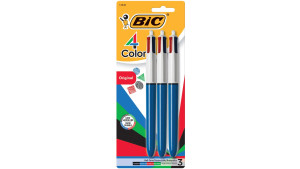 multi-colored ballpoint pens