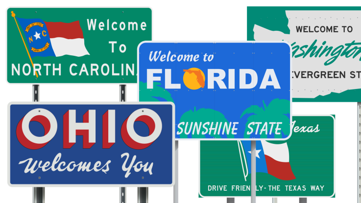 States signs