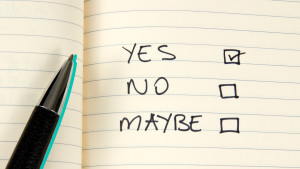Yes or No checkbox