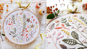 Hand-embroidery set