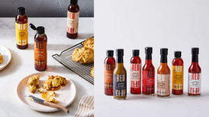 hot sauce and hot honey collection