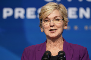 Secretary of Energy nominee Jennifer Granholm.