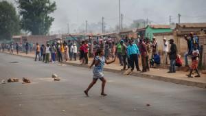Nigeria looting