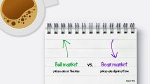 bull market vs. bear market infographic