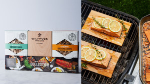 barbecue wooden smoking chips for meat and fish