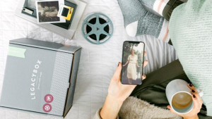 turn old photos, baby tapes, and videos into a digital file to share with family and friends