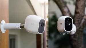 A home security system