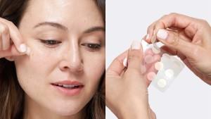 A pimple patch