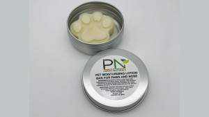 moisturizing balm for your pet's nose and paws
