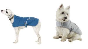 L.L.Bean fleece dog coat