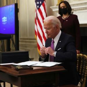 Biden signing eos