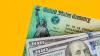 Payroll tax holiday treasury check and money