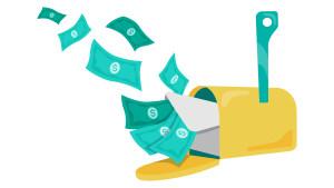 money mail tax refund