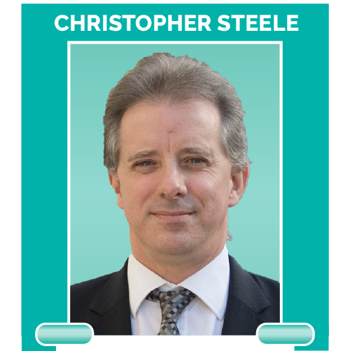 Christopher Steele is a former British spy and the man behind that famous dossier