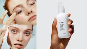 glossier gelly cleanser for dirt and makeup
