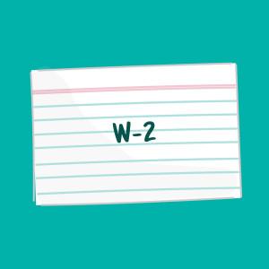 W-2 FSL card