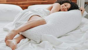 Hypoallergenic body pillow