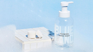 refillable hand soap that can be make from tablets and water