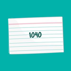 1040flashcard