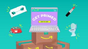 Get Primed Prime Day Hero Image