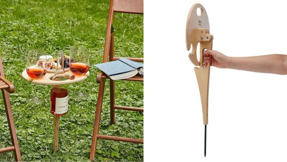 portable table for backyard