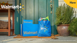 walmart+ membership that can get you free shipping on certain items and free grocery delivery from walmart stores