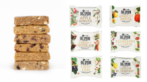 delicious nut butter snack bars in a variety of flavors like apple ginger, fig, and lemon blueberry