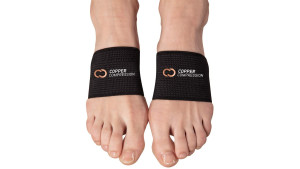 copper arch support bands