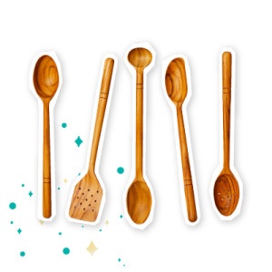 FiveTwo WoodenSpoons