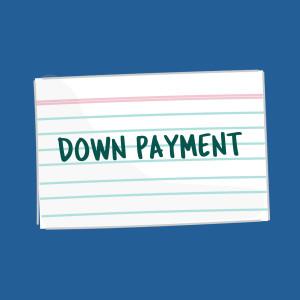 Down Payment FSL Card