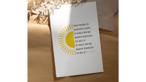 amanda gorman inspirational quote print
