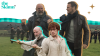 """Treated photo of """"Men in Kilts"""" hosts and """"Outlander"""" characters in Scotland"""