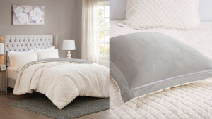 sherpa reversible comforter
