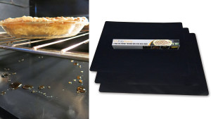 oven liners to protect from spills