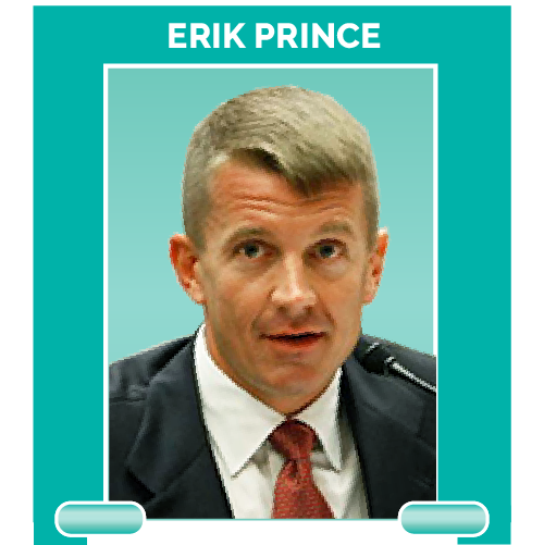 Erik Prince is the founder of private security firm Blackwater and Education Secretary Betsy DeVos's brother