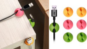 cable clips to hold charging wires
