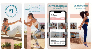 fitness app with a wide variety of activities