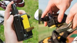 gadget that can clean golf clubs