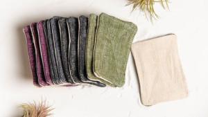reusable linen sponge